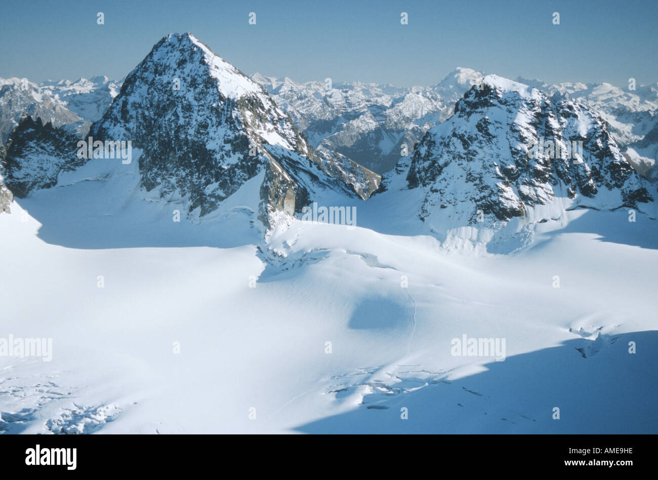 piz buin and kleiner piz buin austria vorarlberg stock photo royalty free image 8707293 alamy. Black Bedroom Furniture Sets. Home Design Ideas