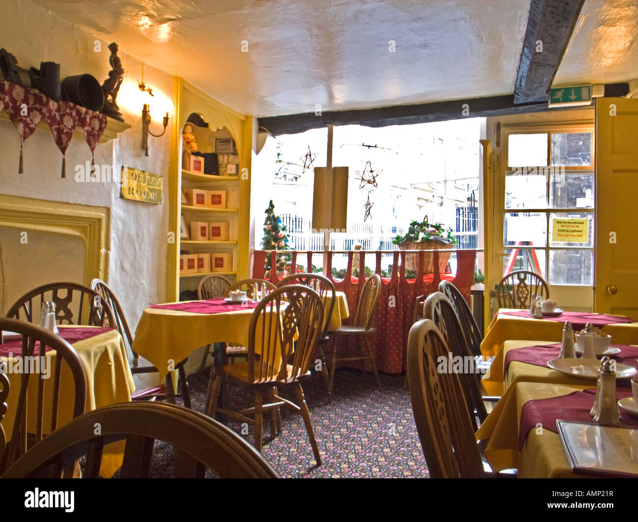 Interior of sally lunn 39 s tea rooms in bath city somerset for Bath house shop