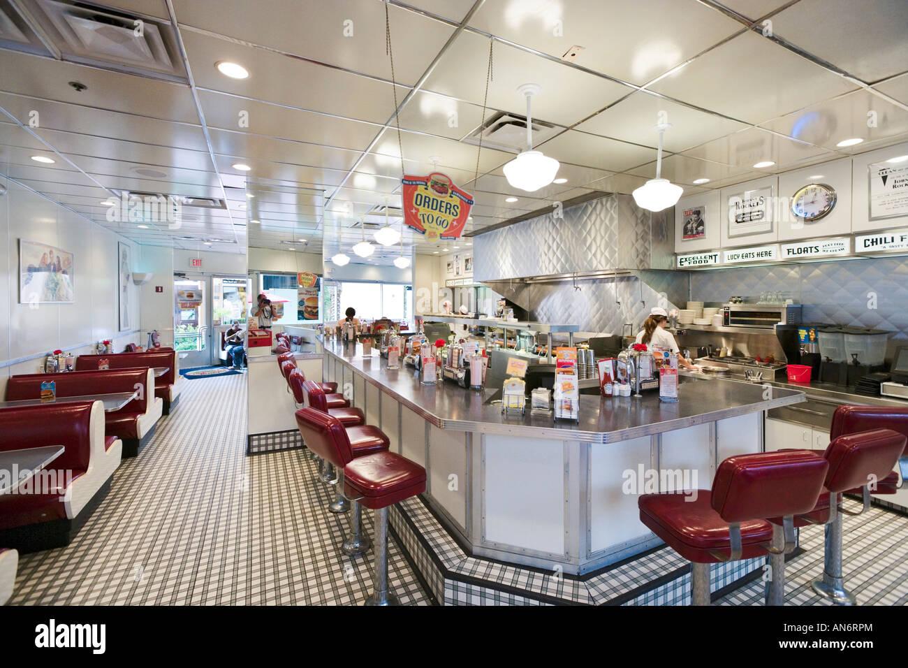 Johnny Rockets Retro Style Hamburger Restaurant Pointe