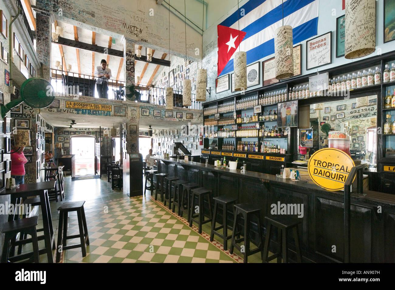 La Bodeguita Del Medio Cuban Restaurant Malecon Old Town  : la bodeguita del medio cuban restaurant malecon old town puerto vallarta AN907H from www.alamy.com size 1300 x 956 jpeg 256kB
