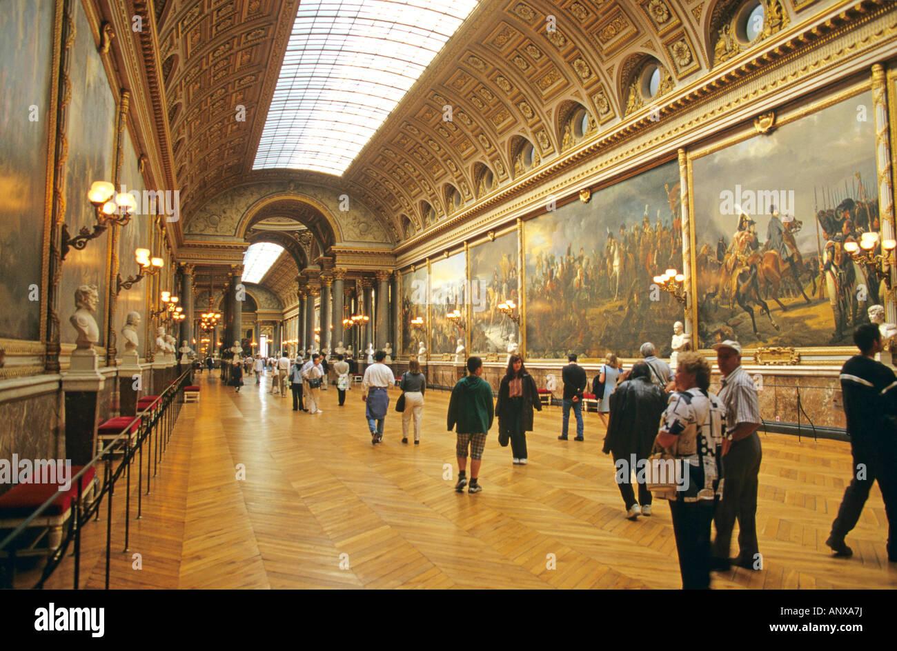 Versailles galerie des batailles palace of versailles for Salon du vin versailles