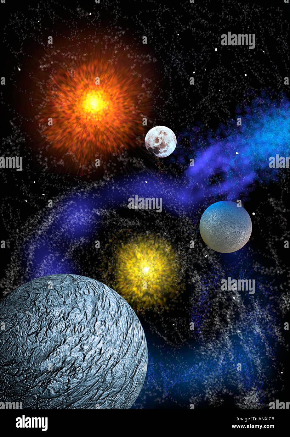 planets and moons stars - photo #19