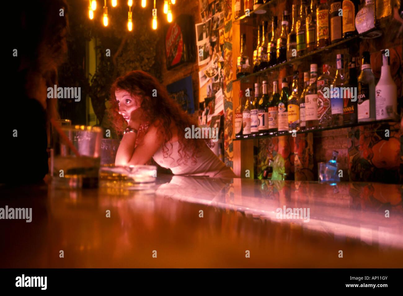 Night club raval barcelona spain stock photo royalty for Night club barcelona