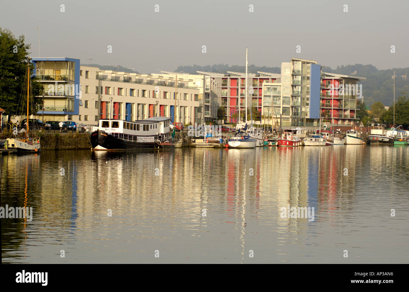 The Point Harbourside Apartments Bristol Stock Photo ...