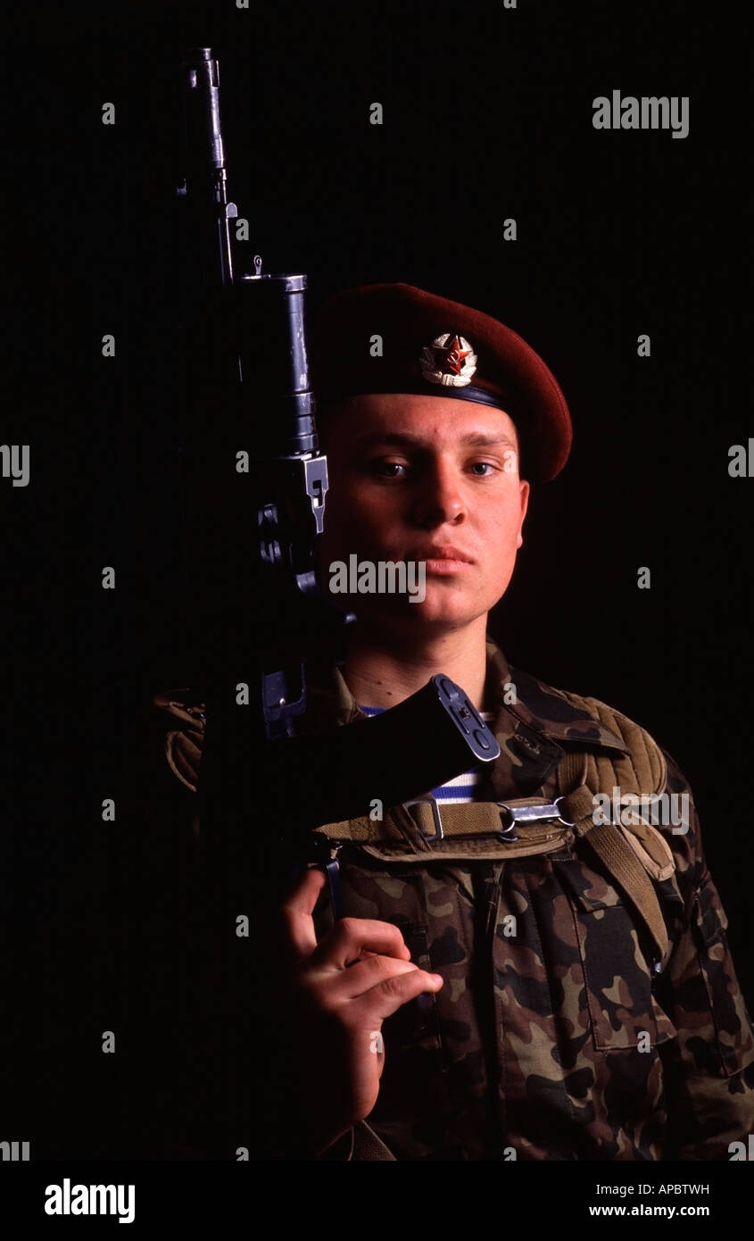 Soviet Armed Forces / Soviet Army (1946-1991) - Page 5 Portrait-of-a-red-army-soldier-holding-his-kalashnikov-ak-74-assault-APBTWH