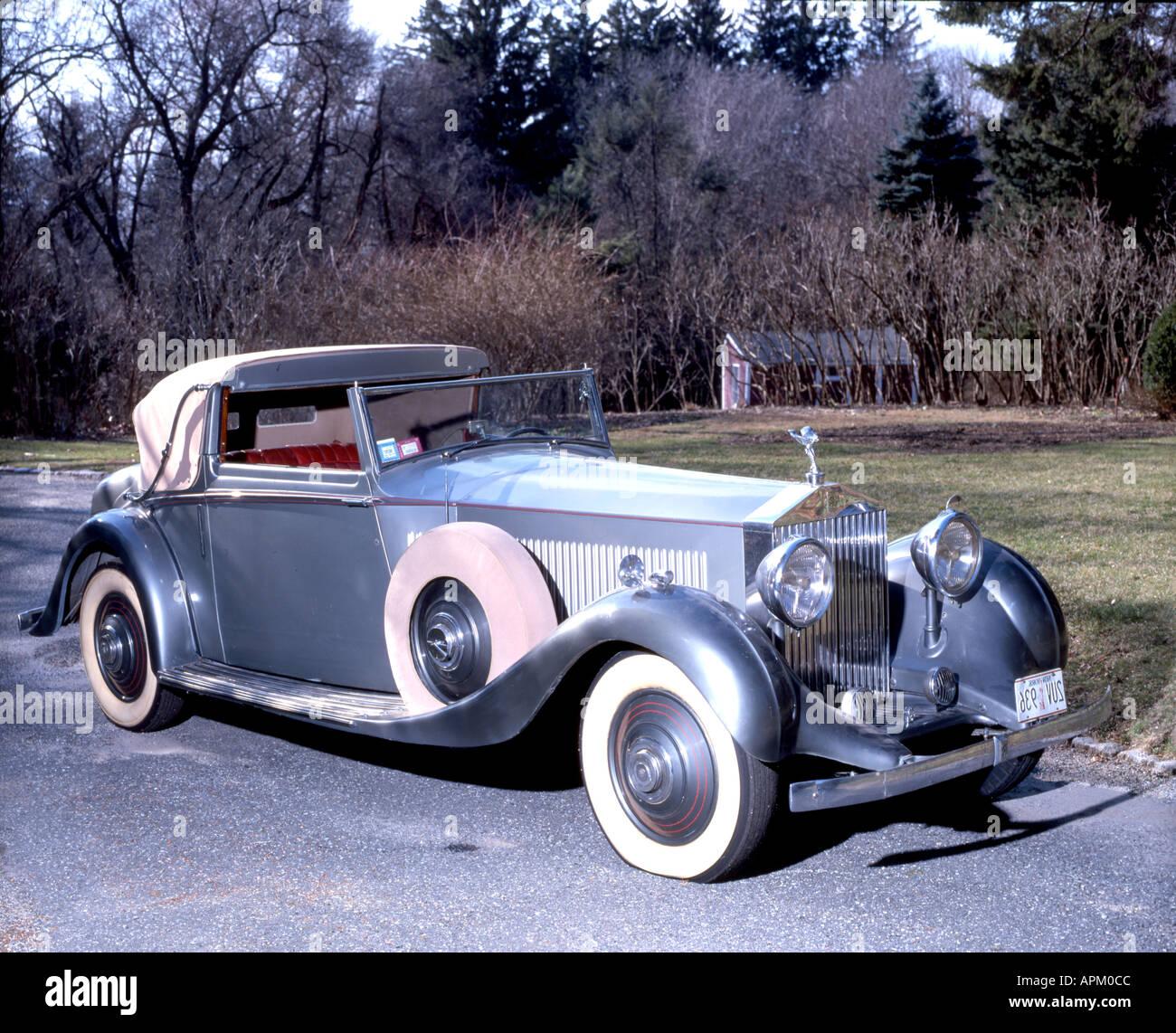 1934 Rolls Royce Phantom 2 Continental Drophead Sedanca
