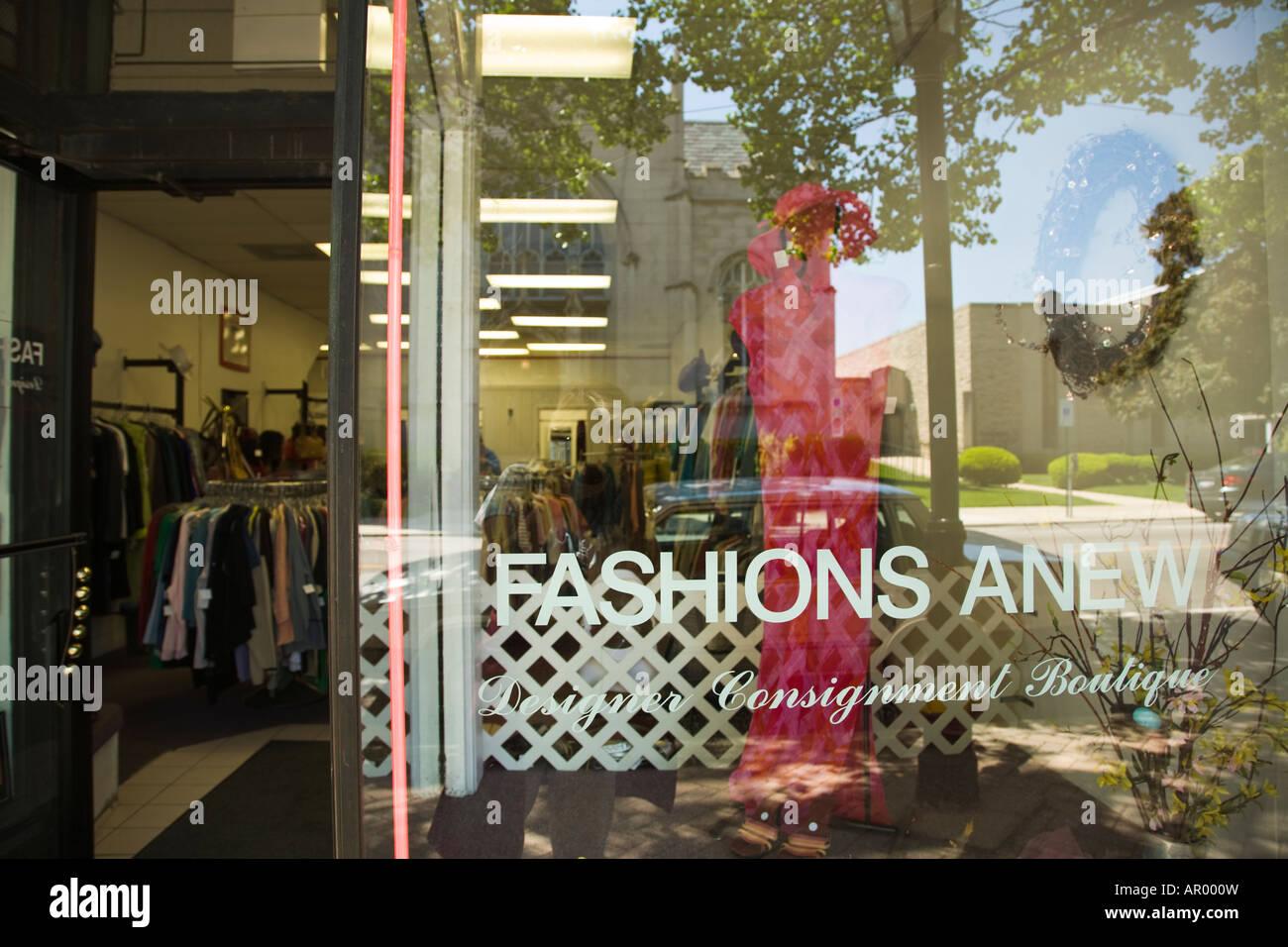 Oak clothing store