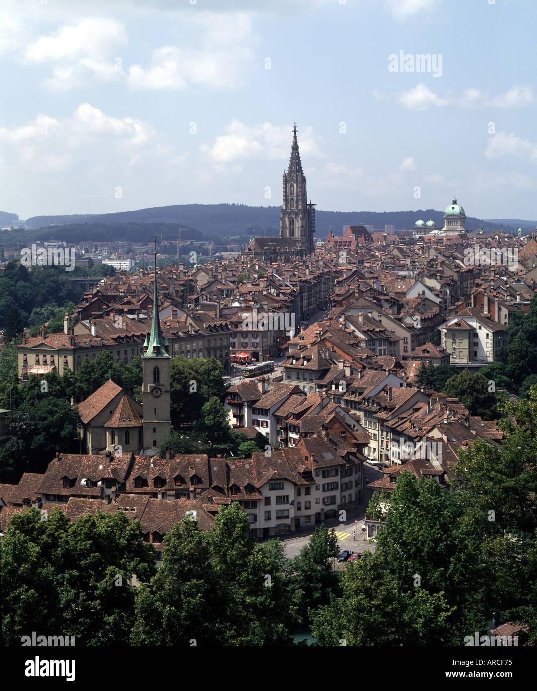 Küchenladen Bern Altstadt ~ bern, altstadt, von osten, blick vom rosengarten stock