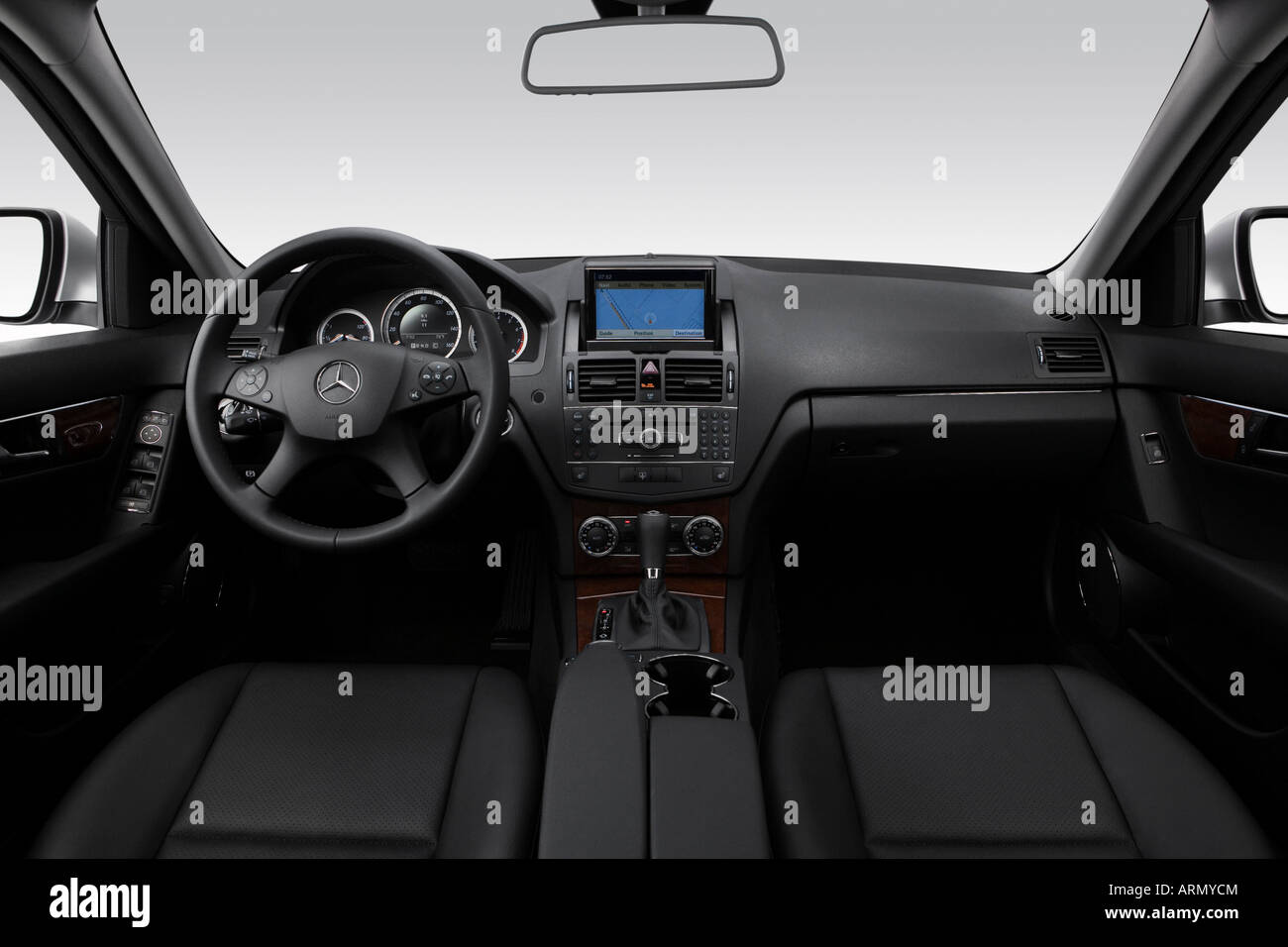 2008 mercedes benz c class c300 in silver dashboard for Mercedes benz c250 2008