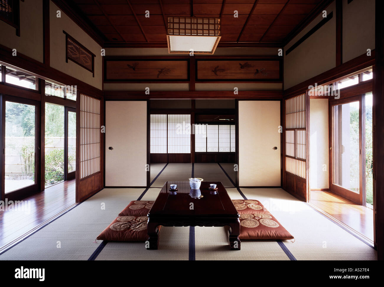 d sseldorf japanisches kulturzentrum traditionelles holzhaus aus stock photo royalty free. Black Bedroom Furniture Sets. Home Design Ideas
