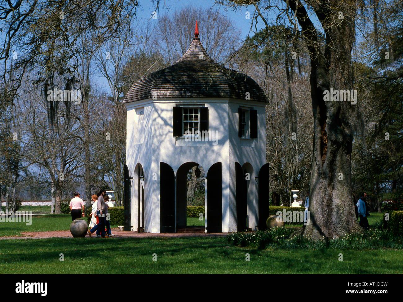 Garconierre At Houmas House Plantation And Gardens River Road Stock Photo Royalty Free Image