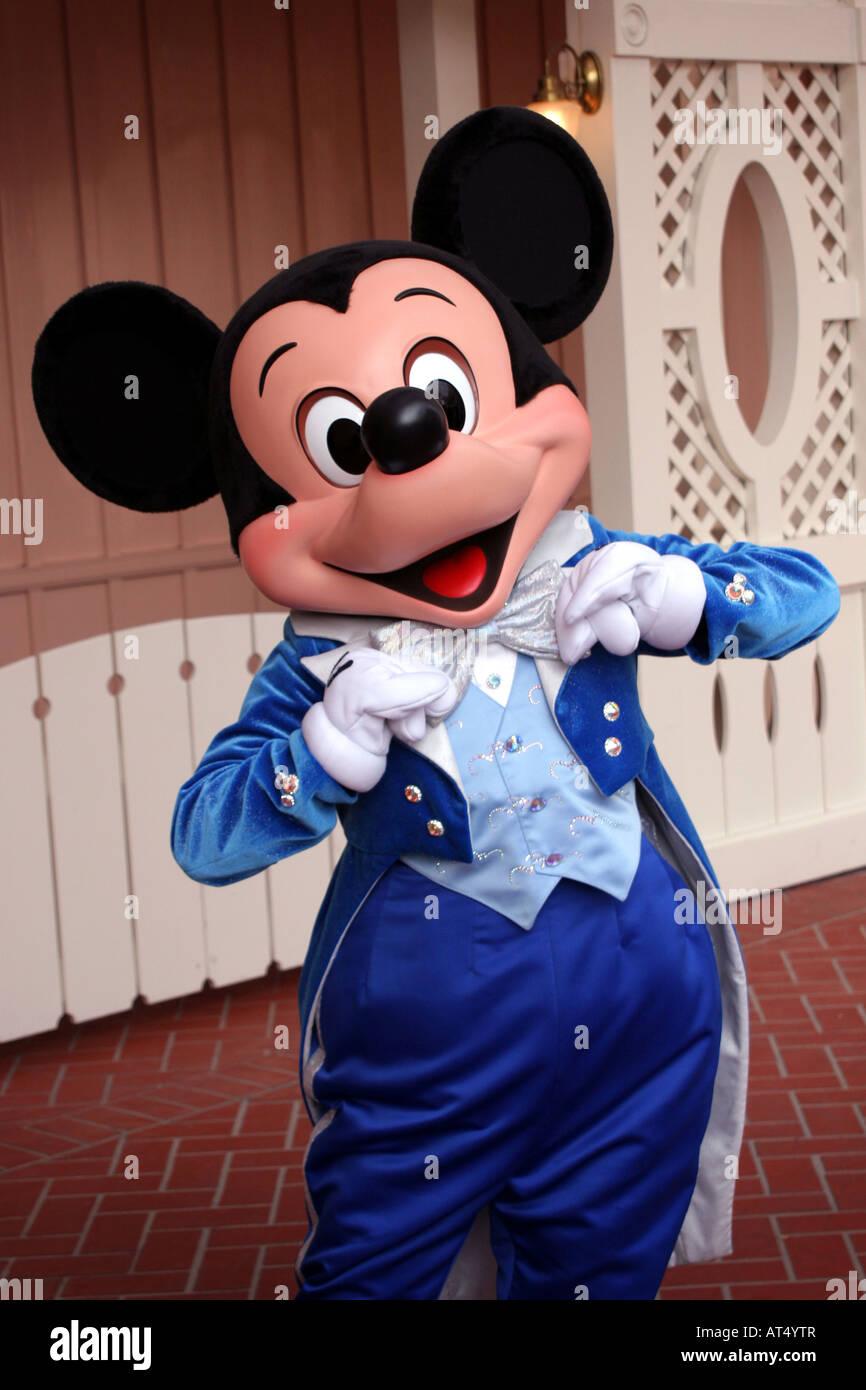 Mickey Mouse At Disneyland California Stock Photo Royalty
