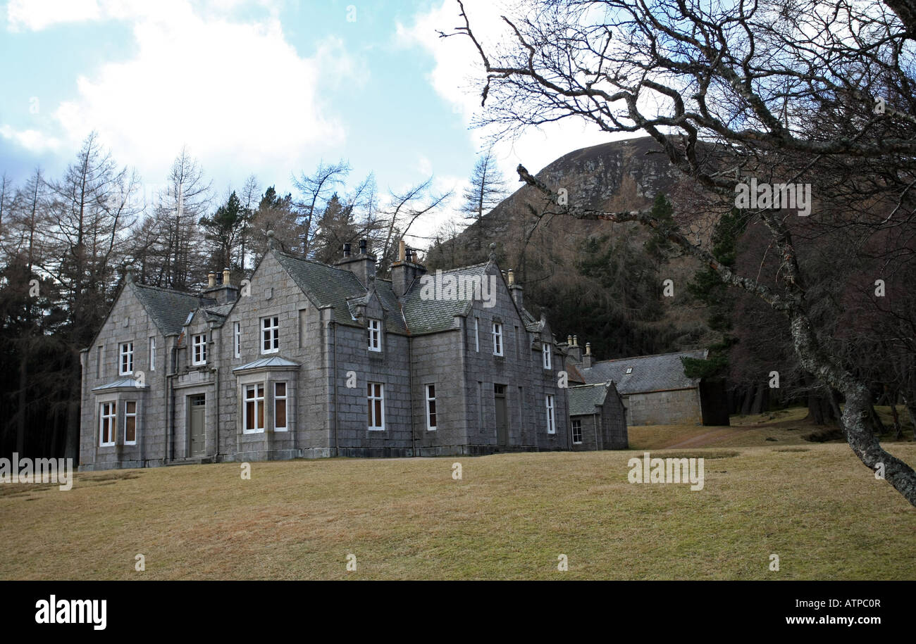 Balmoral Floor Plan Queen Victoria S Royal Lodge Of Glas Allt Shiel On The