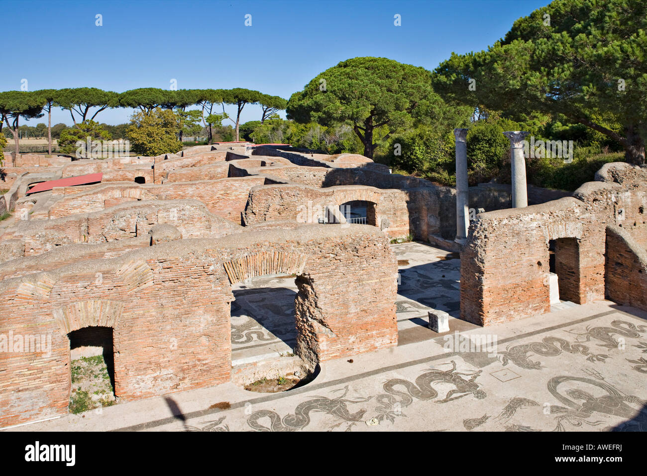 ostia antica an overlooked archaeological site Ostia antica is the former port city of ancient rome today it is next to the  excavations in pompeii the best preserved roman ruins in italy and give a good .