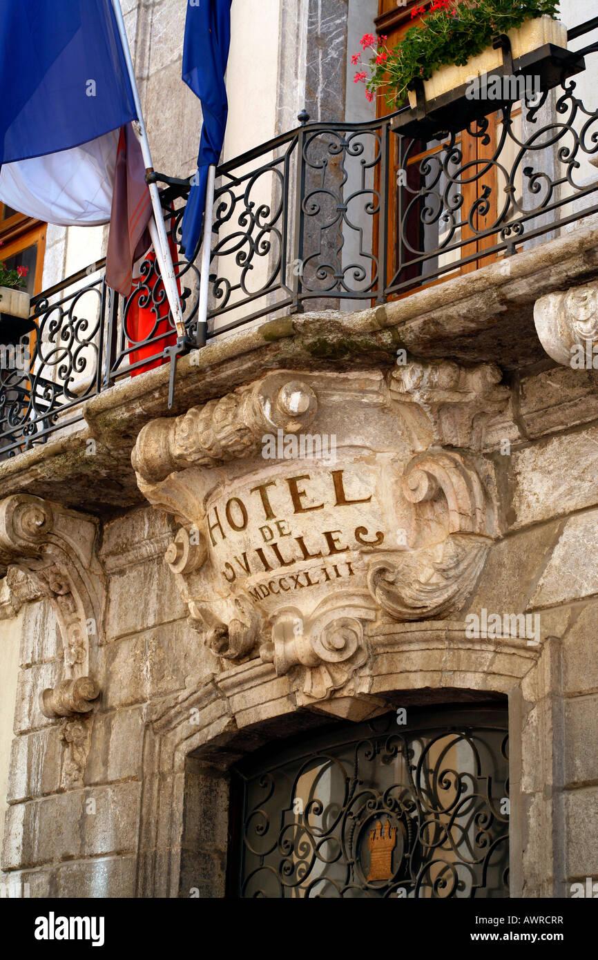 hotel de ville gap capital of the hautes alpes departement france stock photo royalty free. Black Bedroom Furniture Sets. Home Design Ideas
