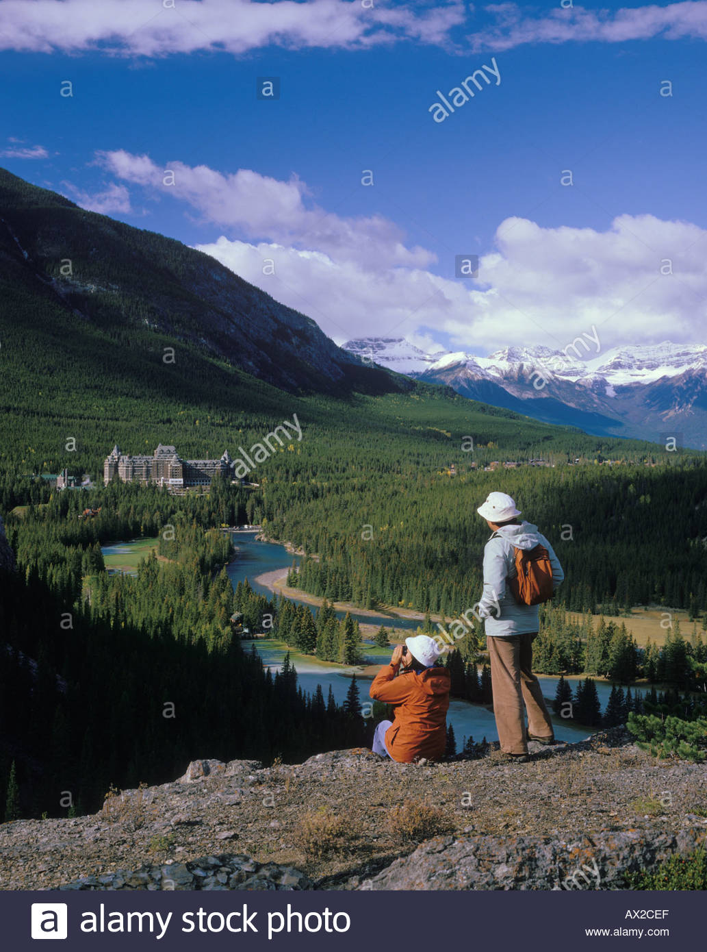 overlooking-the-bow-river-valley-and-the