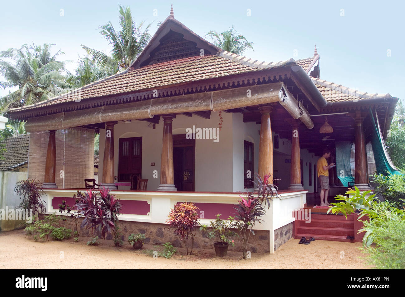 Keralite bungalow styled after traditional kerala house for Traditional bungalow designs