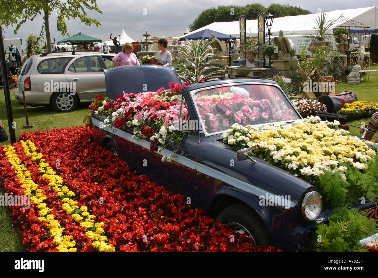 Uk Cheshire Knutsford Tatton Hall Rha Flower Show Vale