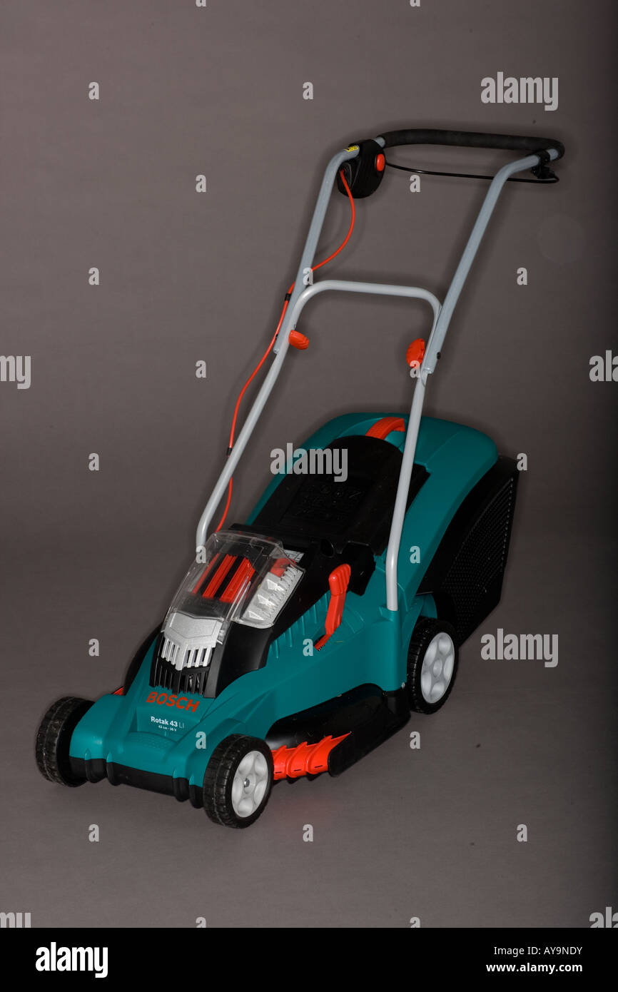 Bosch rotak 40 lawnmower stock photo royalty free image - Bosch rotak 40 ...