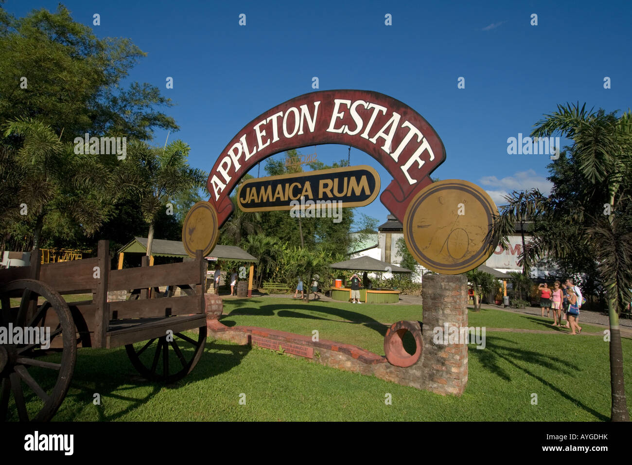 Jamaica Appleton Estate Jamaica Rum factory district St Elisabeth Stock Photo