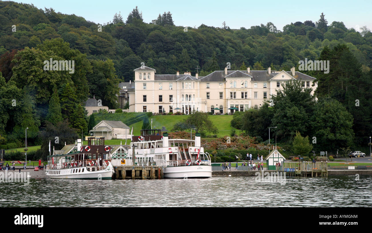 The Belsfield Hotel And Lake Steamers Bowness Bay Lake