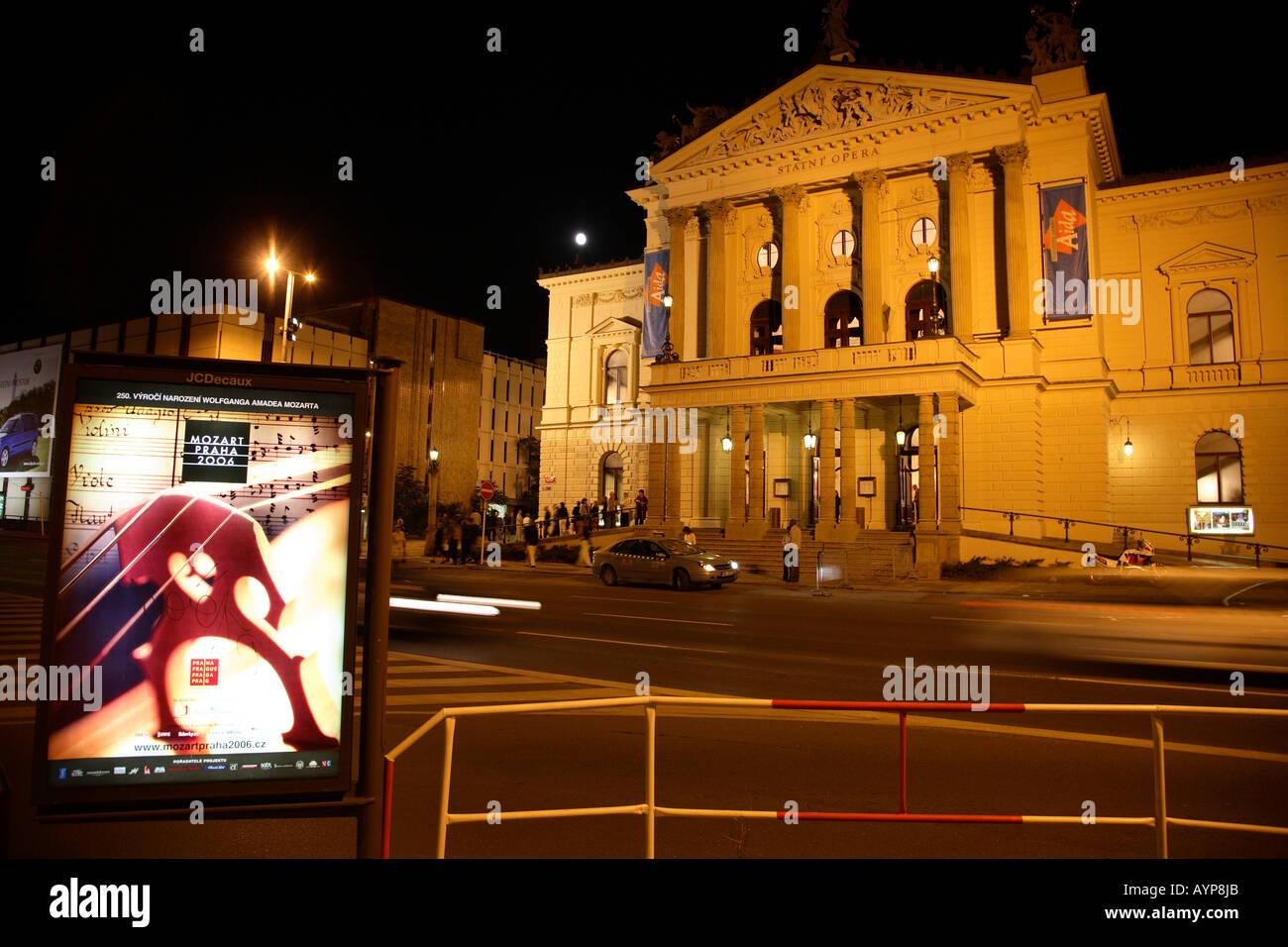 Prague state opera exterior horizontal prague state opera for House music 2006