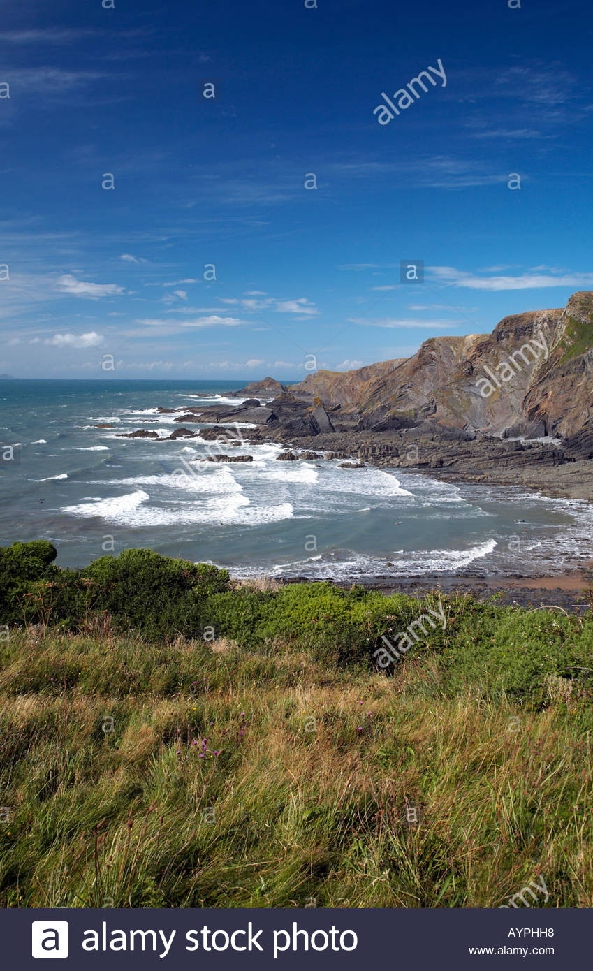 Hartland North Devon England Uk Stock Photo Royalty Free