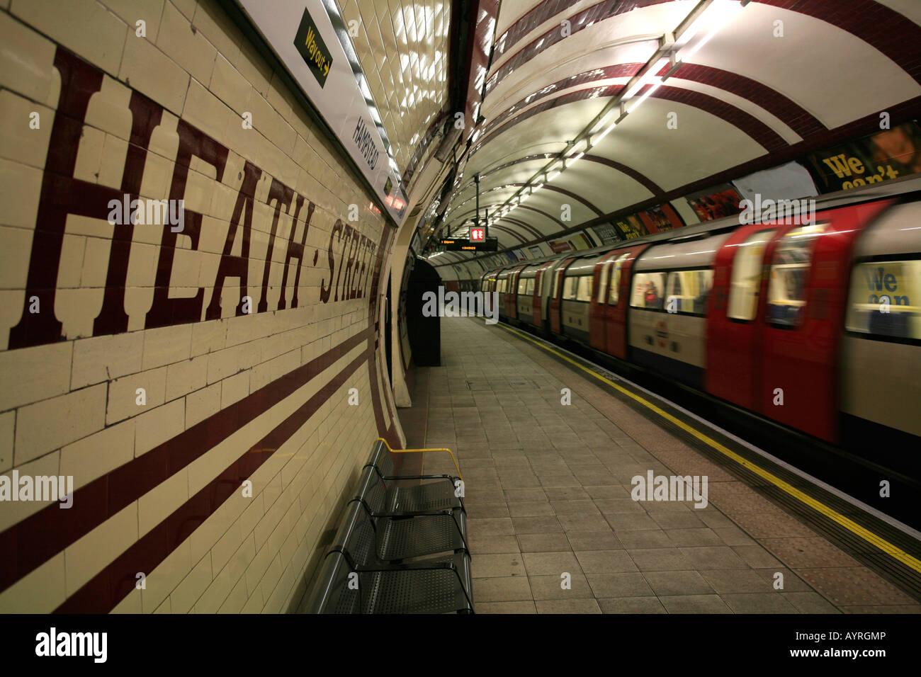 Hampstead tube station, London Underground, London ... London Underground Stations