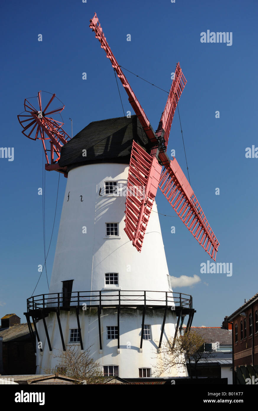 Marsh Mill , 1794 . Thornton Cleveleys , Lancashire , England , United Kingdom , Europe . Stock Photo