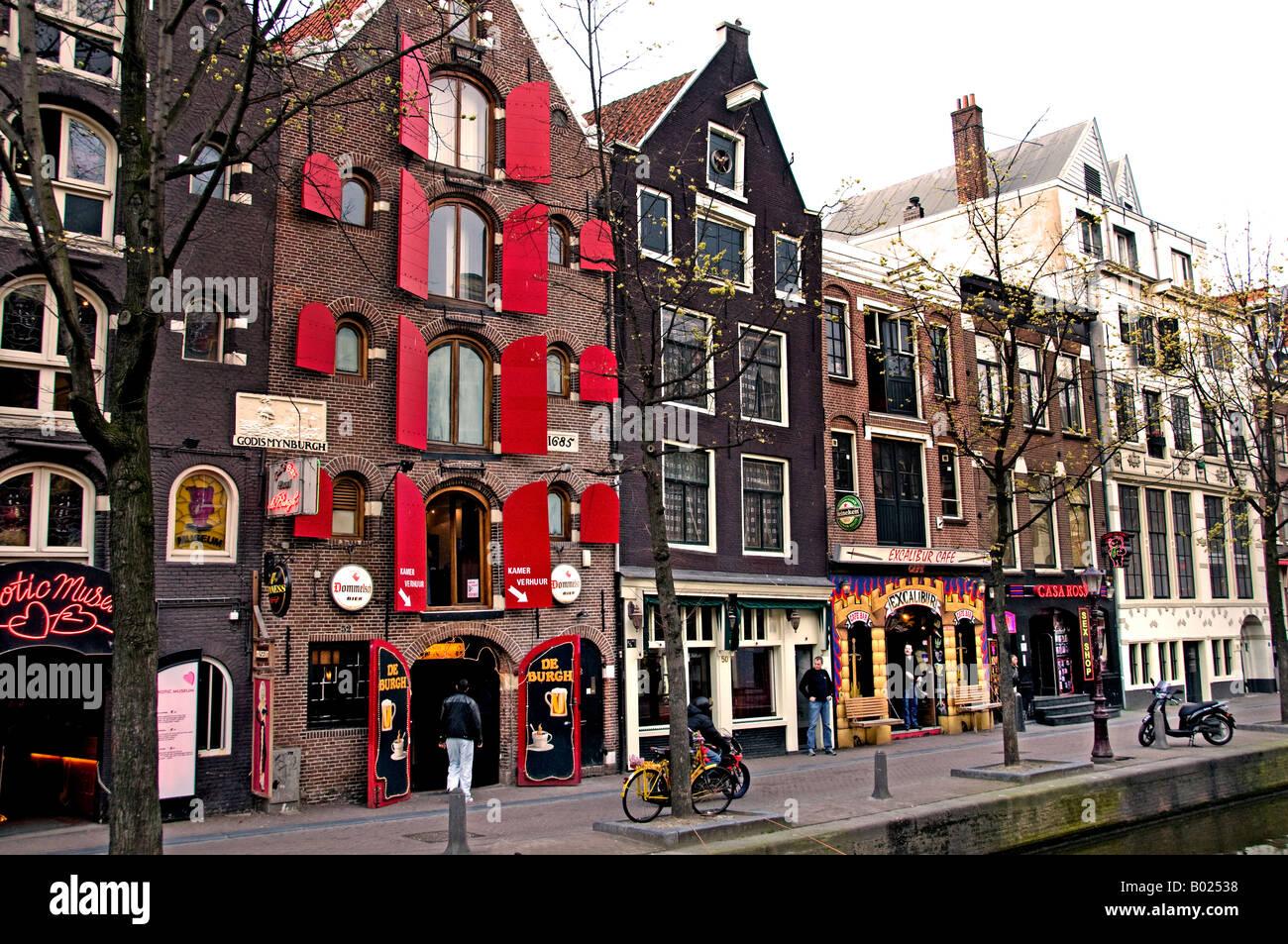 netherlands amsterdam red light district