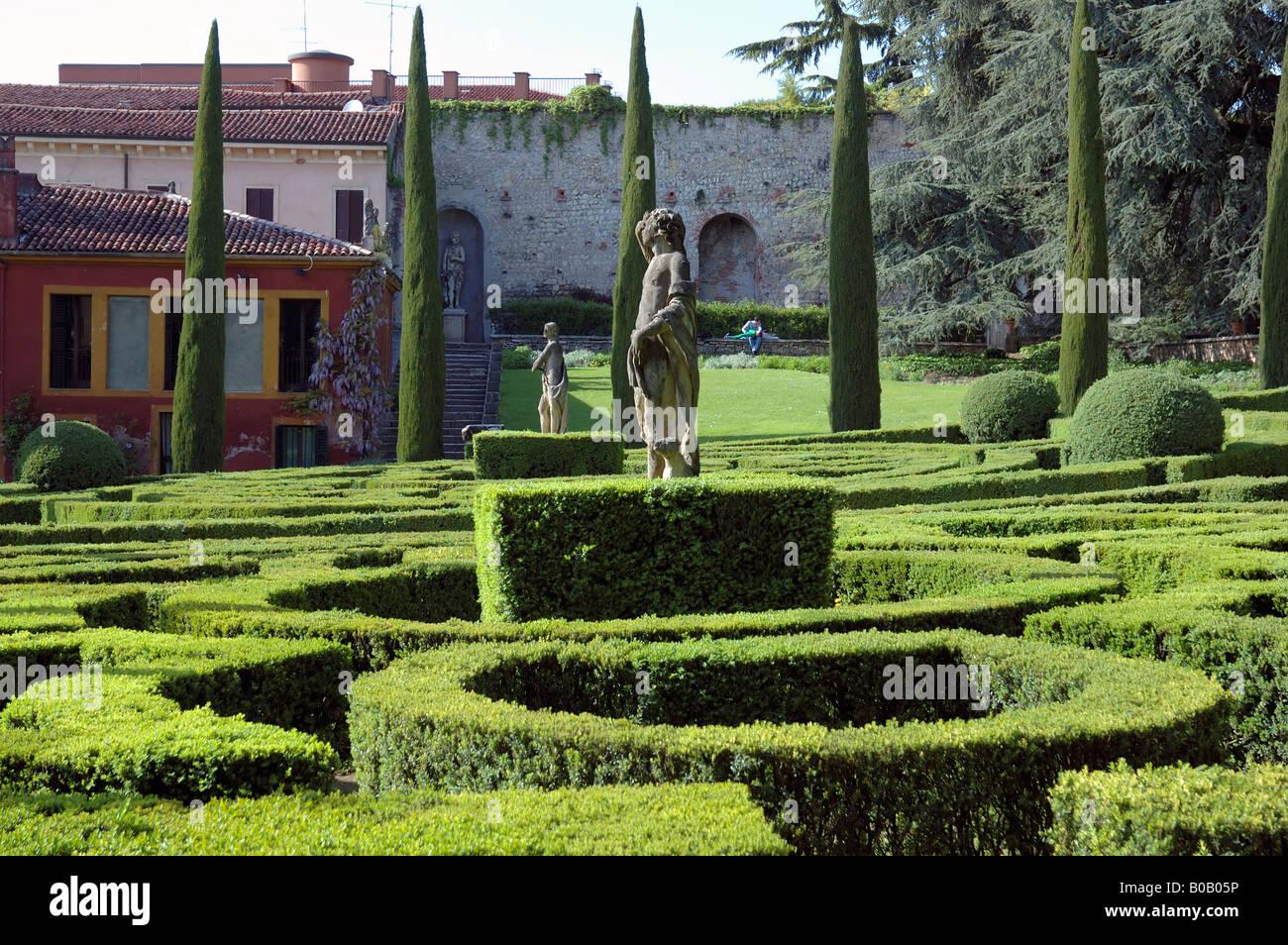 Verona veneto italy giardino giusti renaissance garden for B b giardino giusti verona
