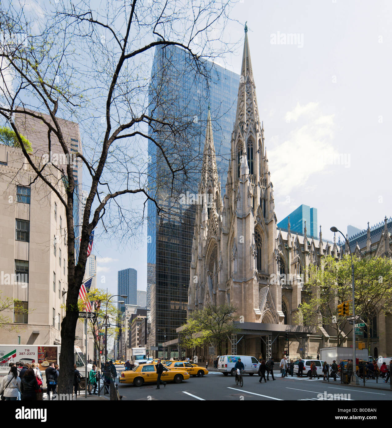 Midtown At Town Center: St Patrick's Cathedral And Olympic Tower, 5th Avenue