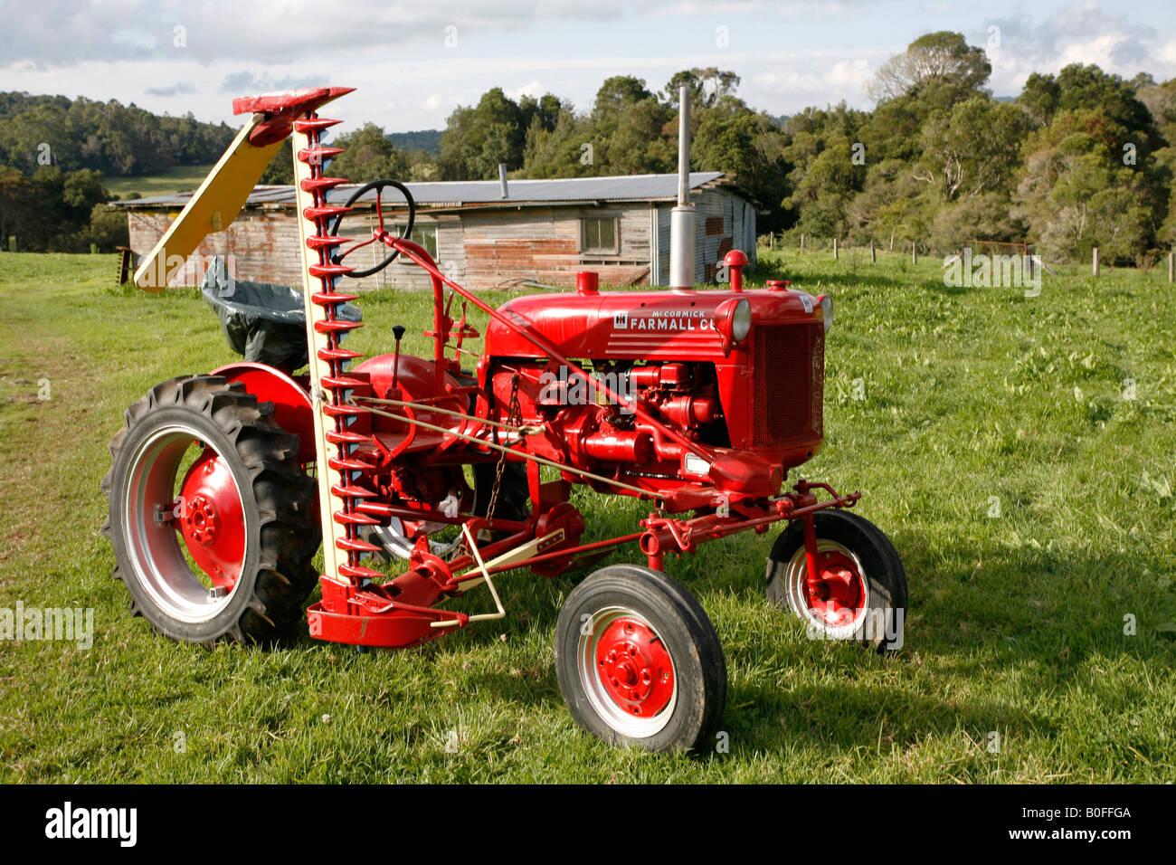 Restored Ih Tractors : A restored antique international farmall cub tractor