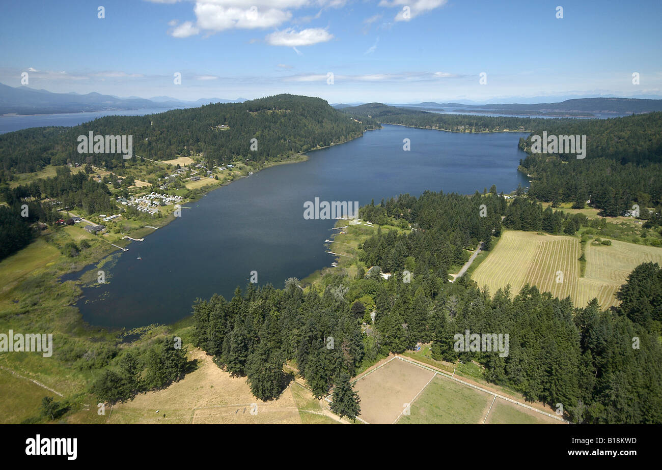 St Mary Lake Salt Spring Island