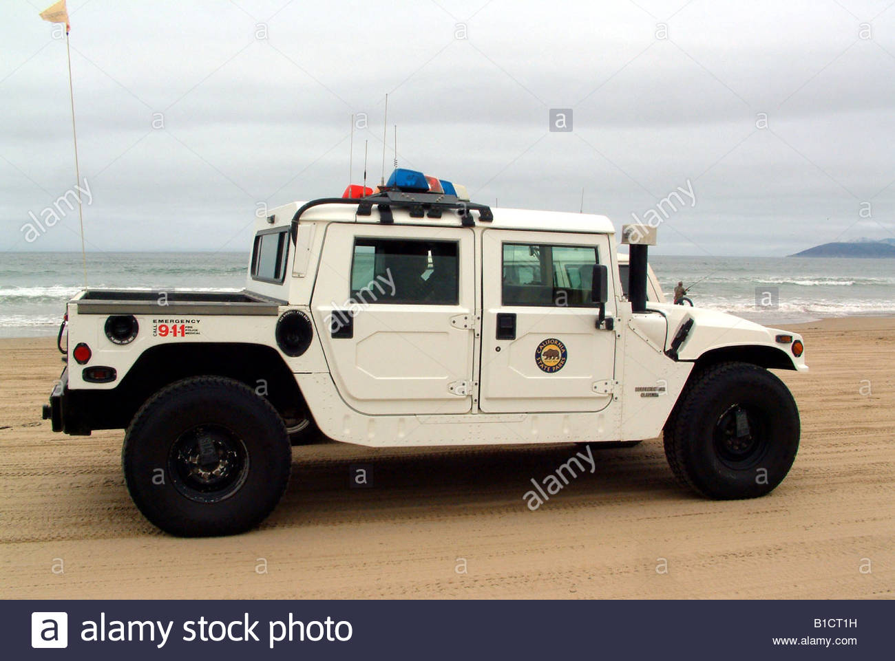 4x4 hummer humvee police car southern california usa summer hot sunny stock photo royalty free. Black Bedroom Furniture Sets. Home Design Ideas