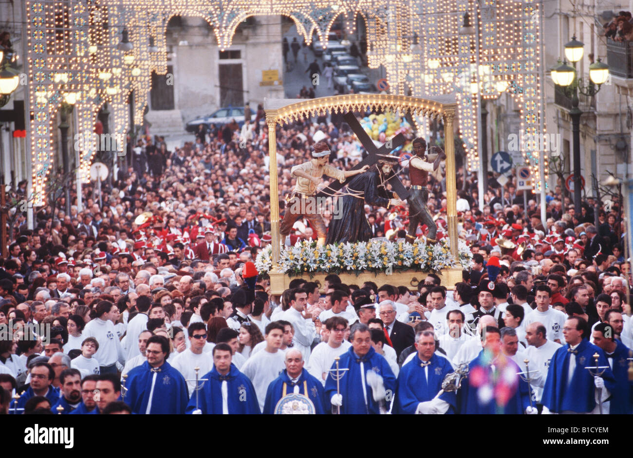 Ispica Italy  city photo : Good Friday Procession Ispica Sicily Italy Stock Photo, Royalty Free ...