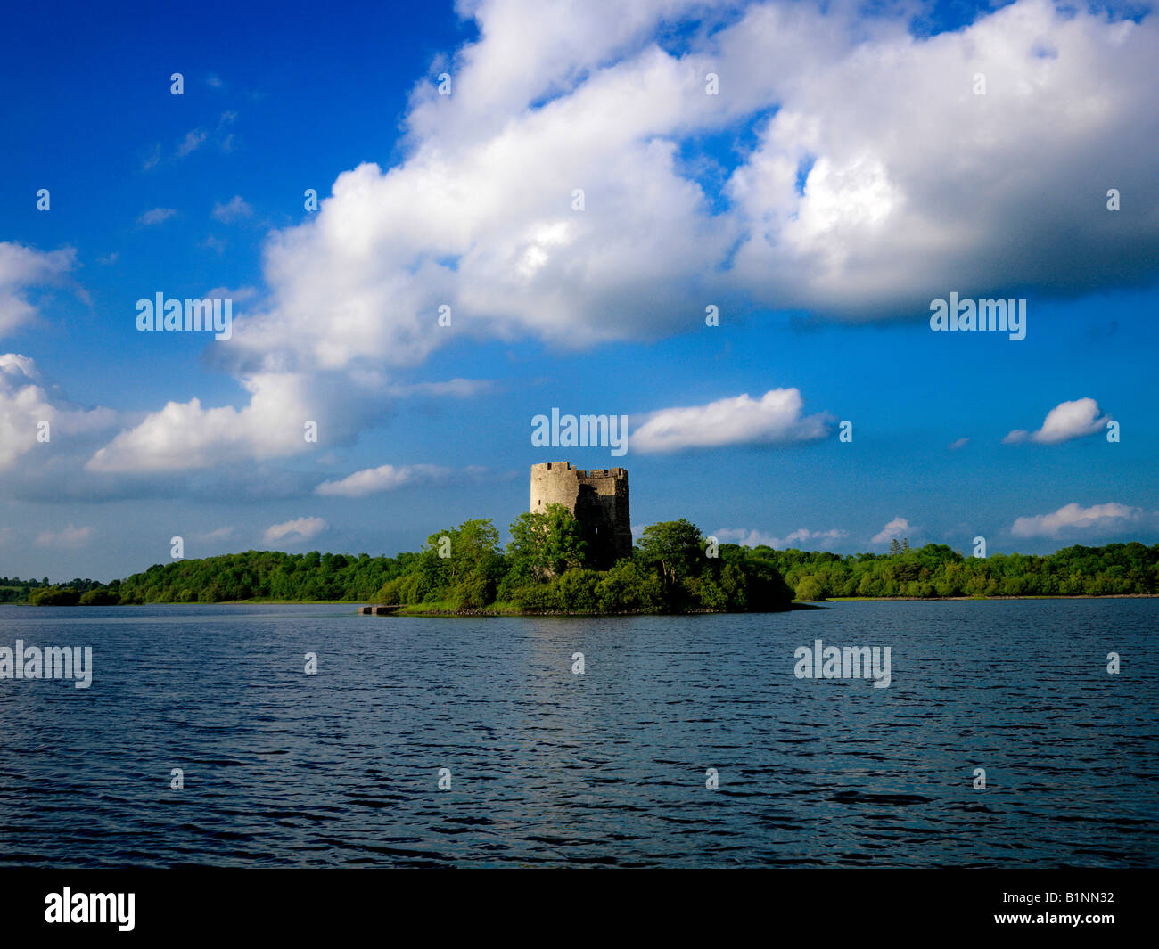 Cavan Ireland  City pictures : Cloughoughter Castle Lough Oughter Cavan Ireland Stock Photo, Royalty ...