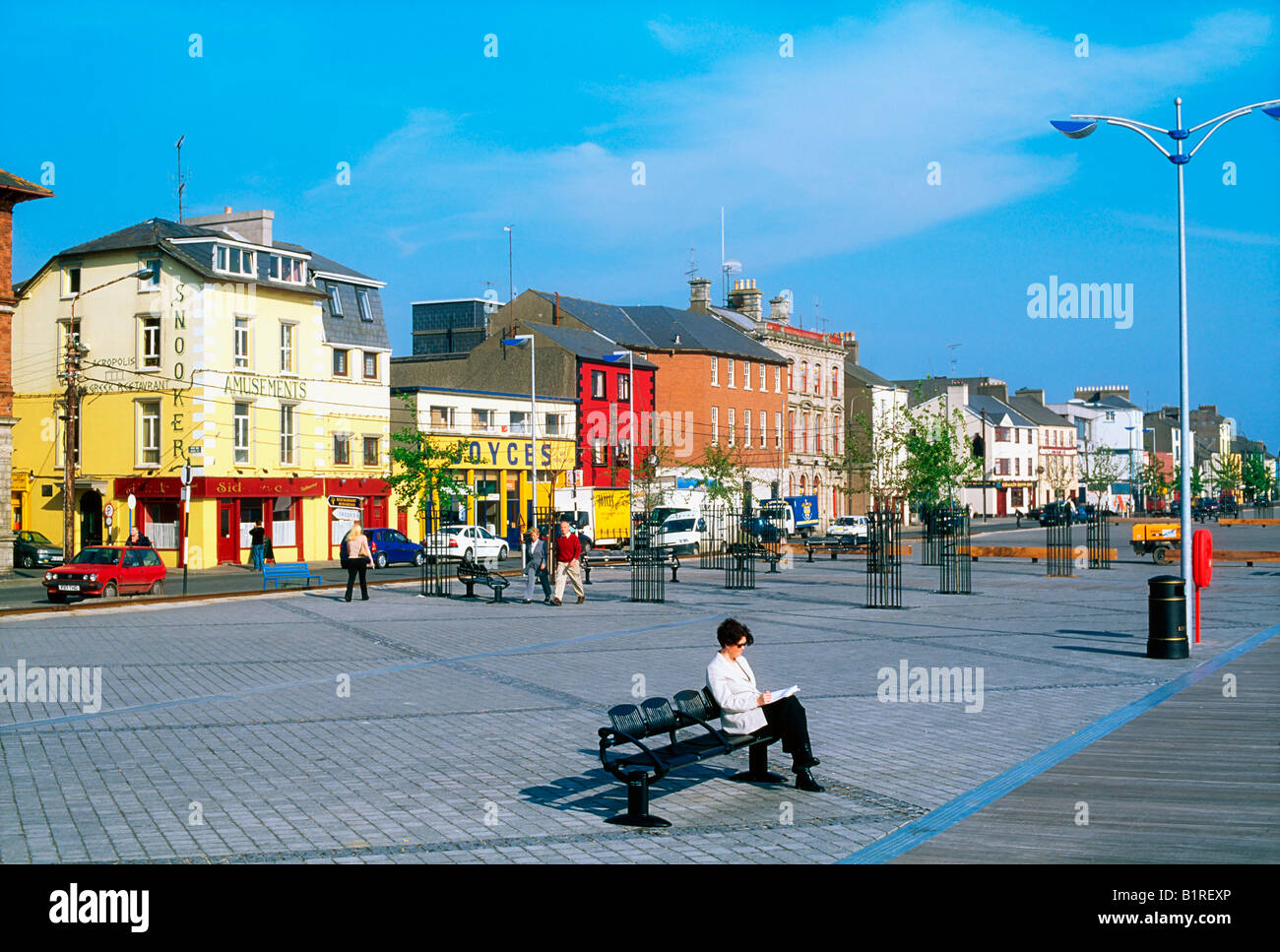 The quays wexford town co wexford ireland stock photo for The wexford