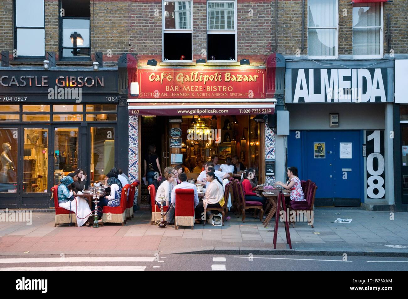 Cafe Gallipoli  Upper Street