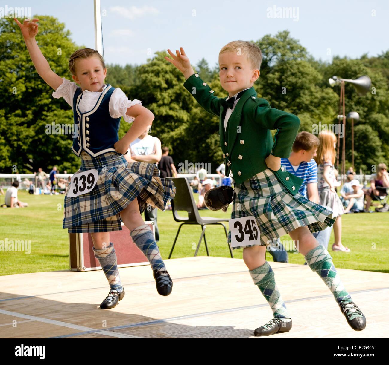 Kids Highland Dancing Shoes