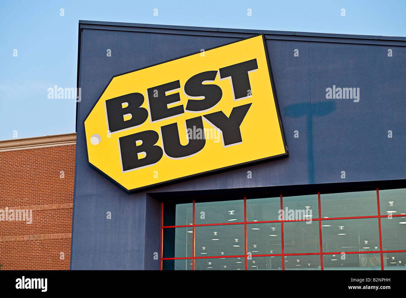 best buy retail discount superstore stock photo royalty free image 18918413 alamy. Black Bedroom Furniture Sets. Home Design Ideas