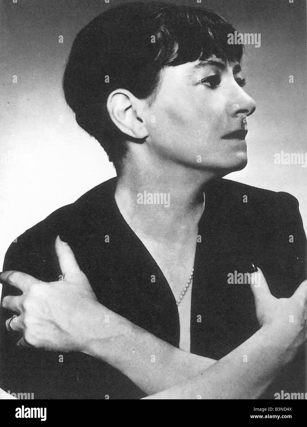 DOROTHY PARKER  US wit, writer and journalist 1893 to 1967 Stock Photo