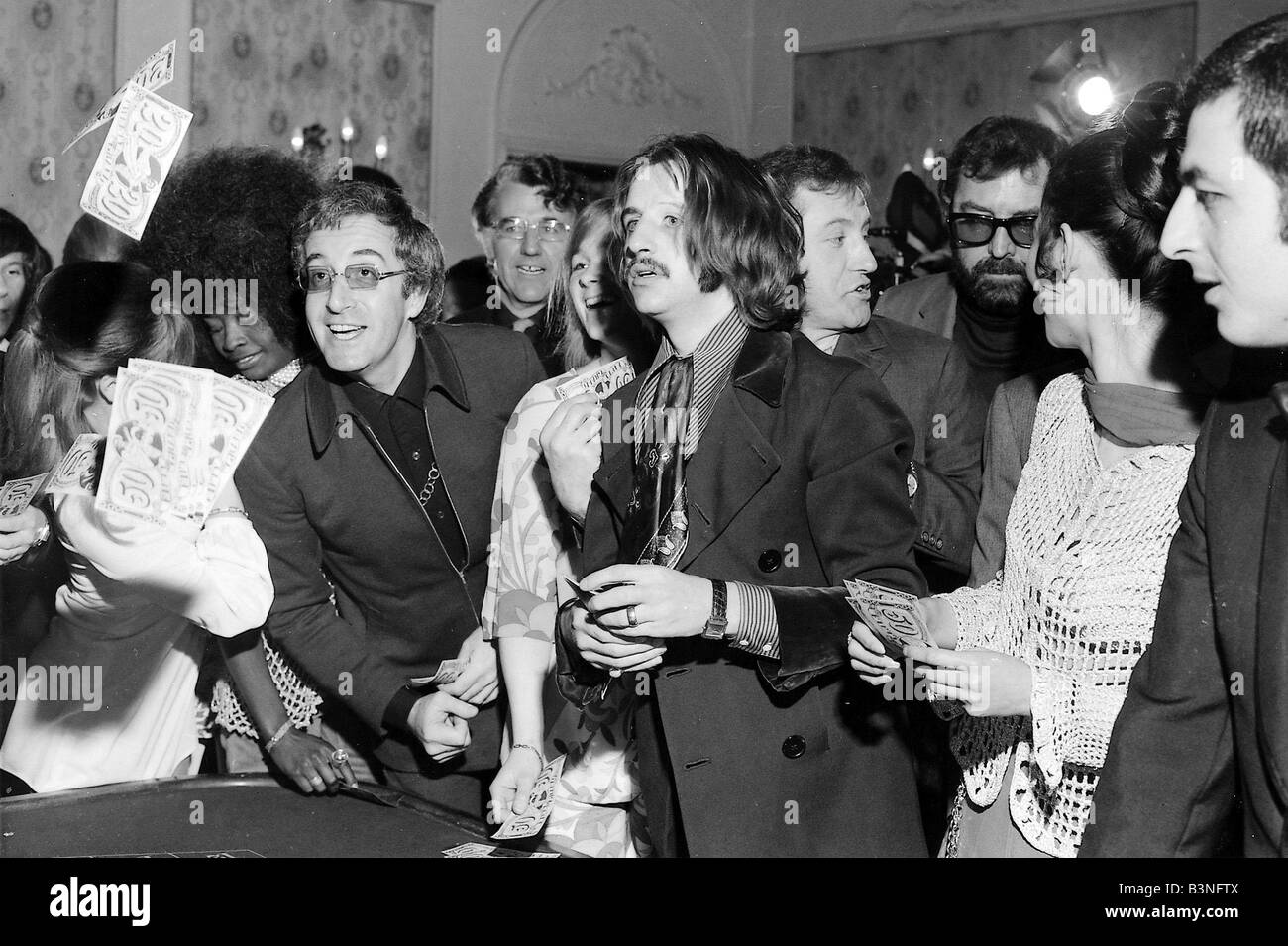 Beatles files 1969 ringo starr with peter sellers play for Christian hentschel