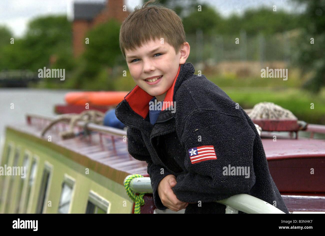 Young actor Nicholas H...