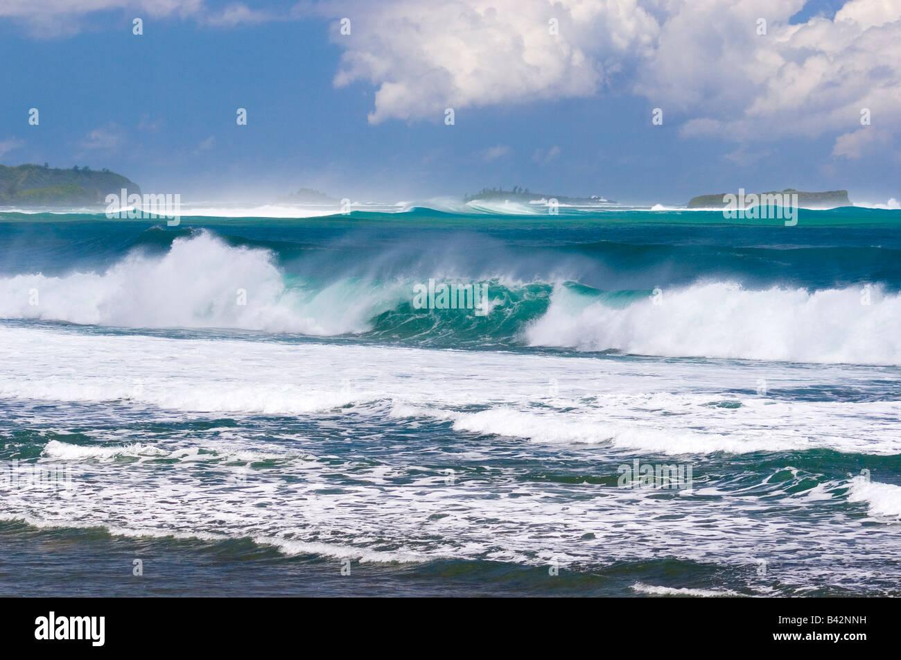 Waves at Beach Micronesia Mariana Islands Pacific Ocean ... Pacific Ocean Waves