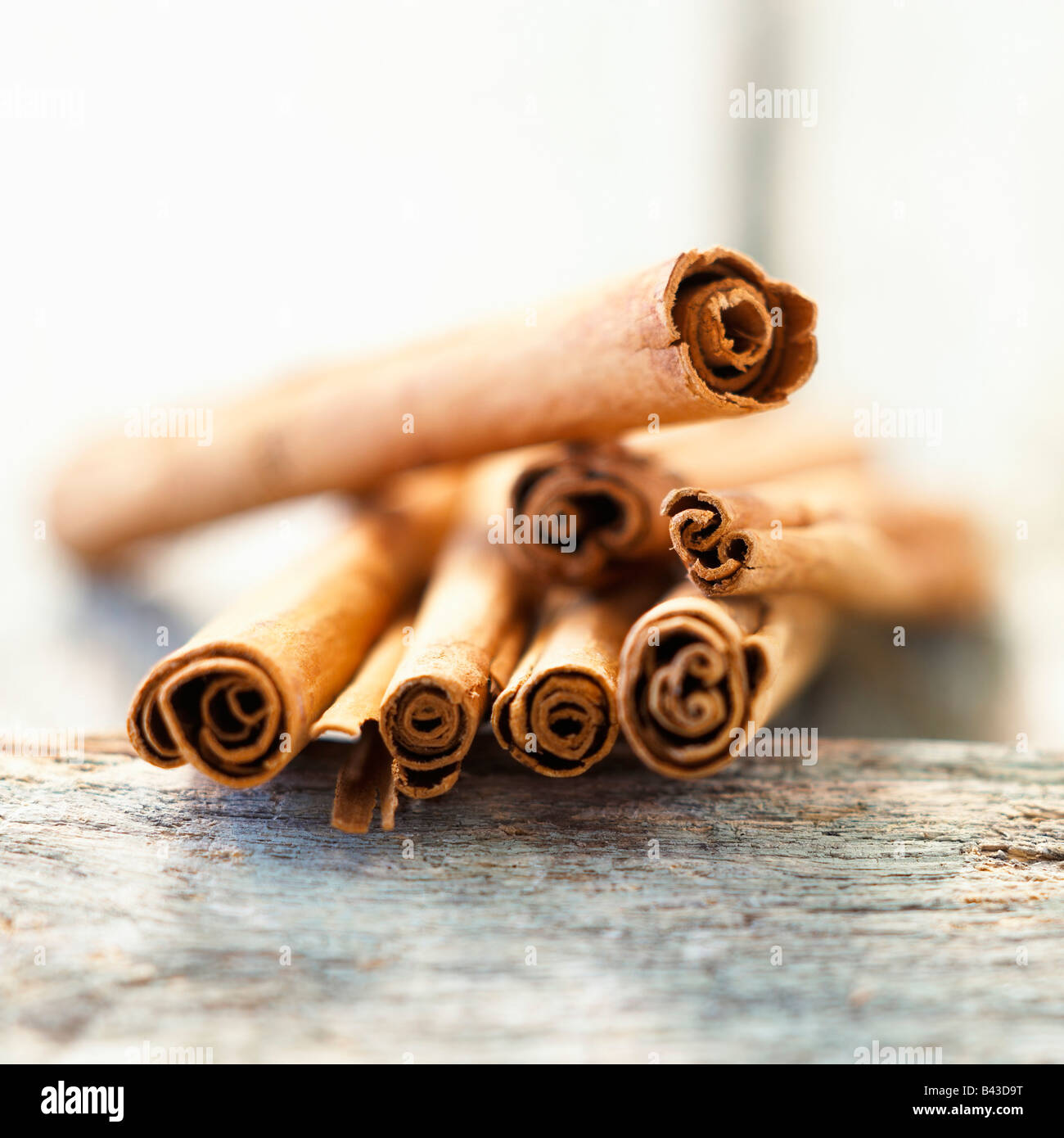 Sticks of cinnamon Stock Photo