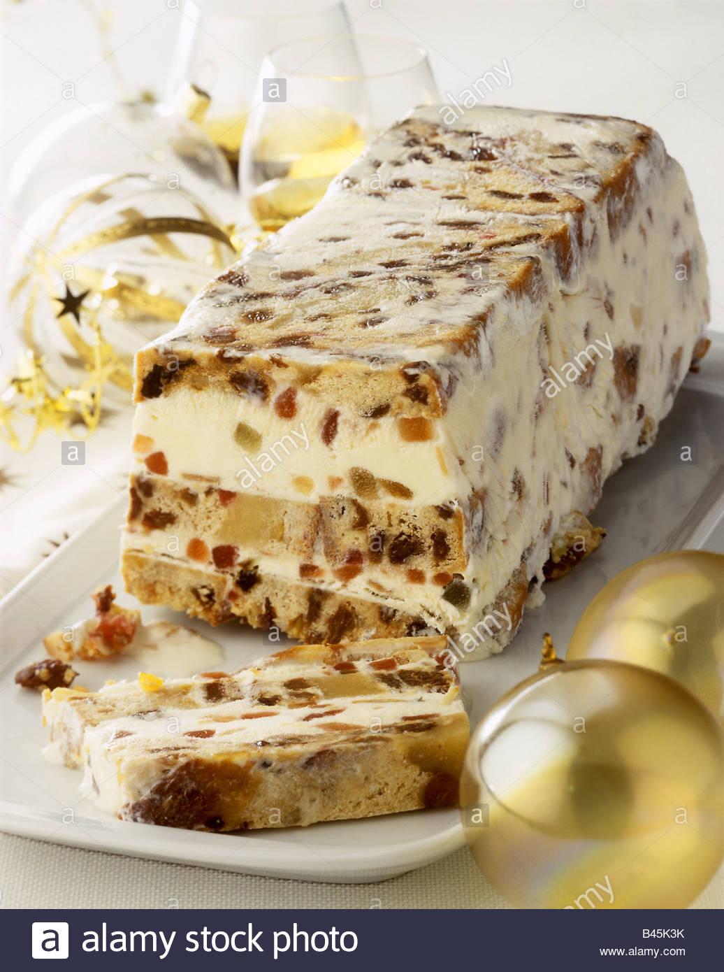 Frozen Italian Ice Cream Cake