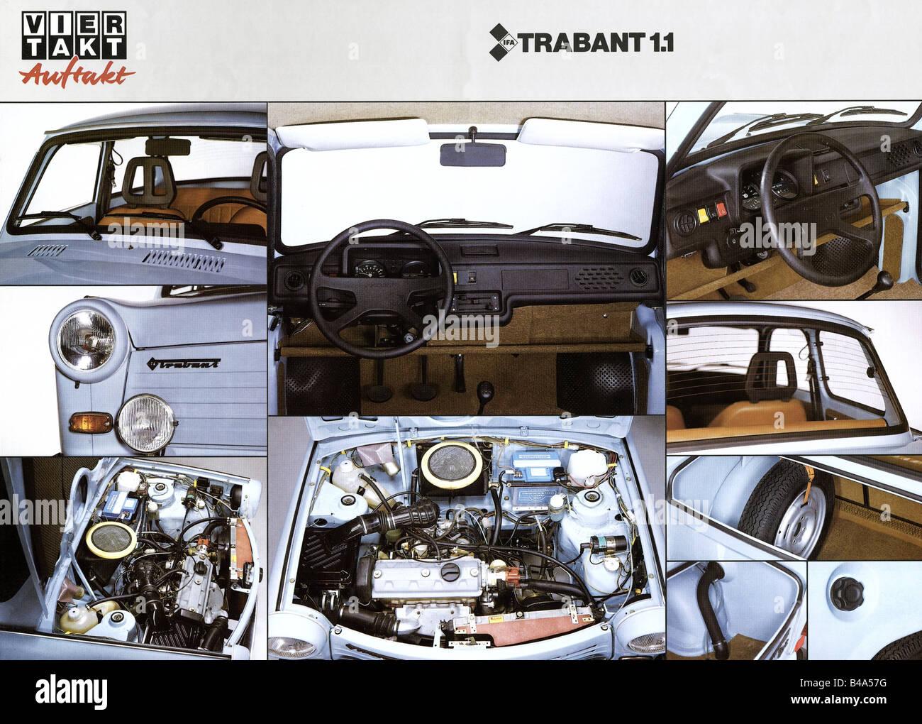 transport/ transportation, cars, Germany, Trabant 1.1 ...