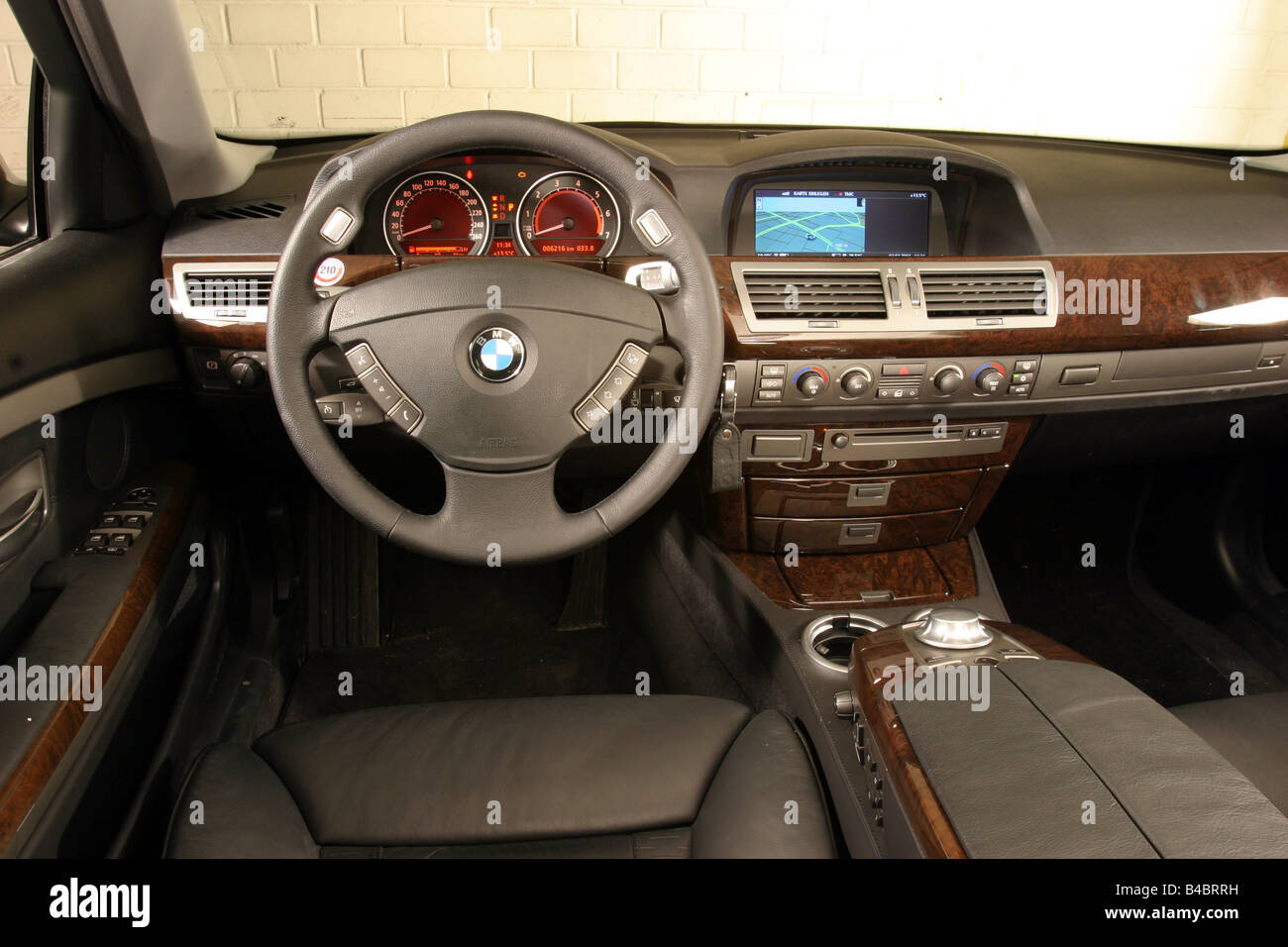 car bmw 745i limousine luxury approx s silver anthracite model stock photo royalty free. Black Bedroom Furniture Sets. Home Design Ideas