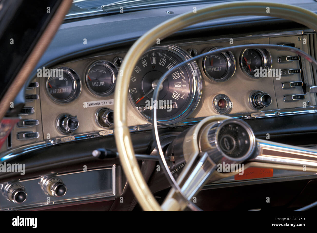 car chrysler 300 vintage car sedan black 1960s sixties model stock photo royalty free. Black Bedroom Furniture Sets. Home Design Ideas